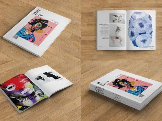 موکاپ کتاب و تبلت Print Screen