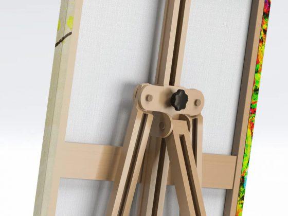 موکاپ تابلو نقاشی اثر هنری