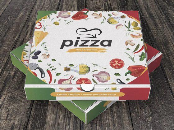 بسته بندی جعبه پیتزا ایتالیایی
