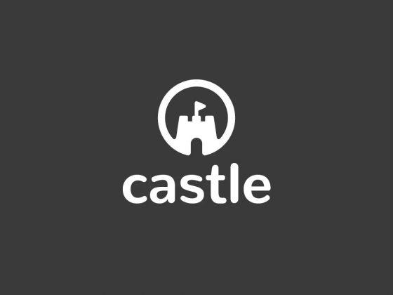 نمونه لوگو طرح قلعه Castle