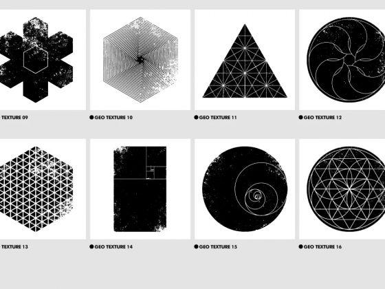 وکتور هندسی خلاقانه